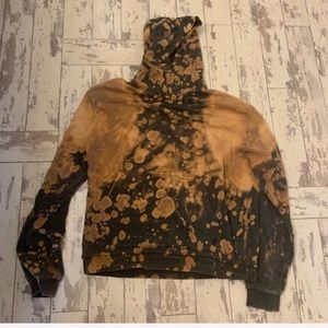 Urban Outfitters bleached distressed hoodie